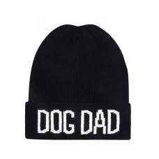 Hatphile Dog Dad Jacquard Beanie Skully Toque