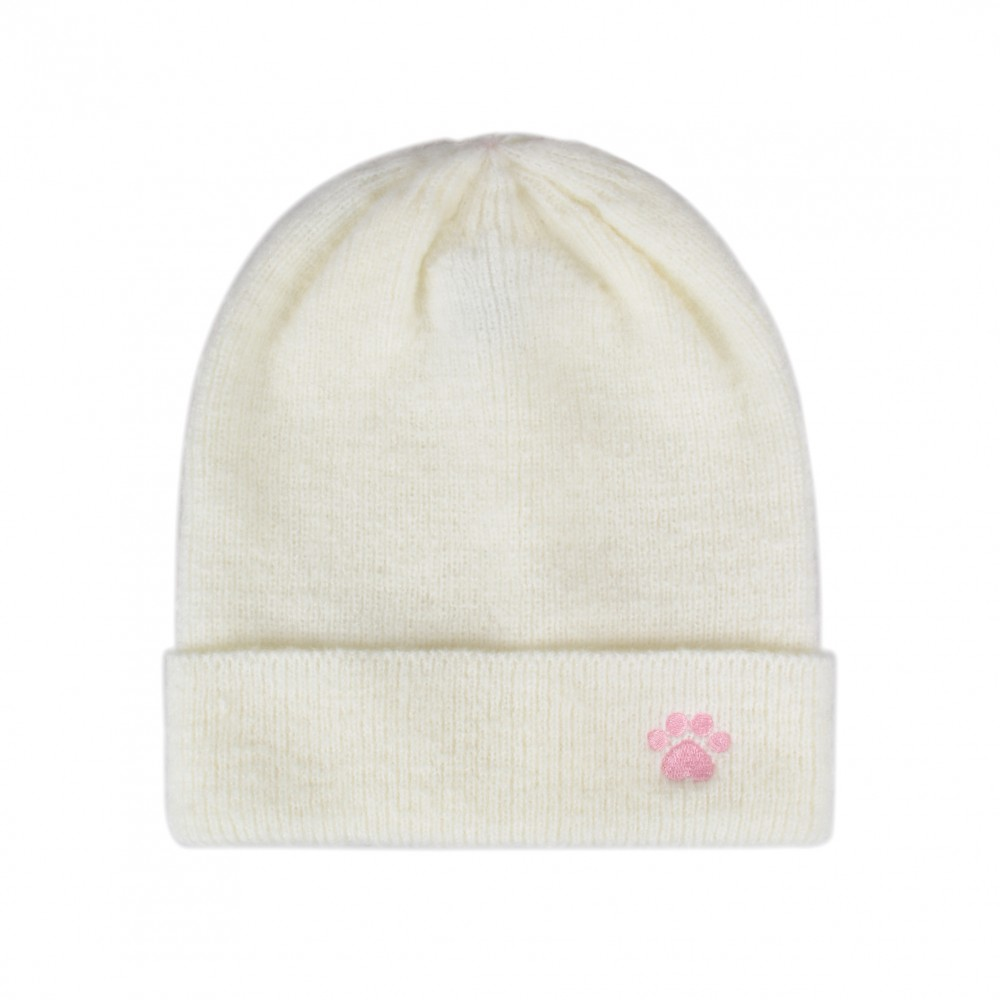 fad7d1f8 Hatphile Trendy Warm Soft Stretchy Love Paw Embroidery Knit Beanie Skully  Toque